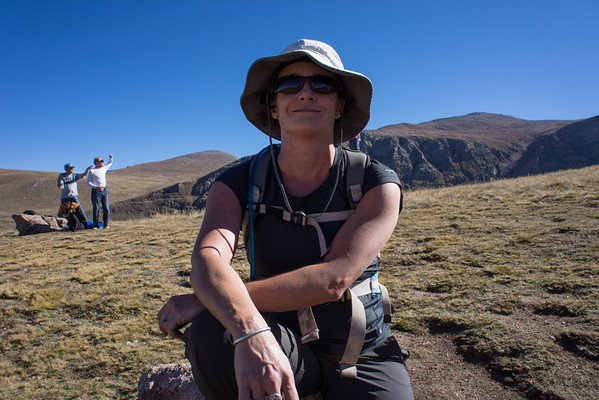 Hiking Mt. Bierstadt with Lon and Wendy
