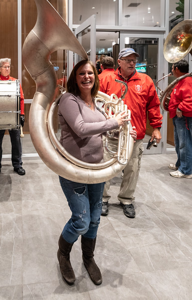 One of several Sousaphone appropriations