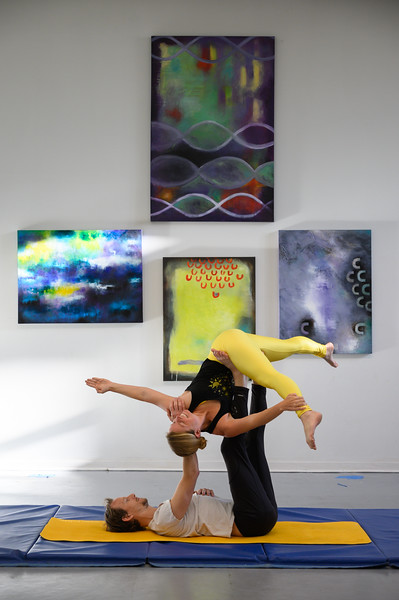 AcroYoga at the MAC