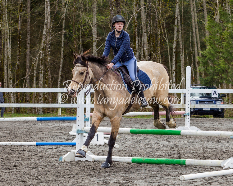 Equestrian - SVEA Jumper Warm-Up - Squamish, April 2018