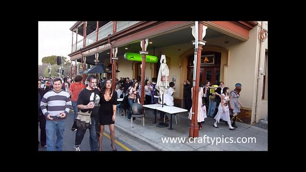 Zombie walk 2009 Video