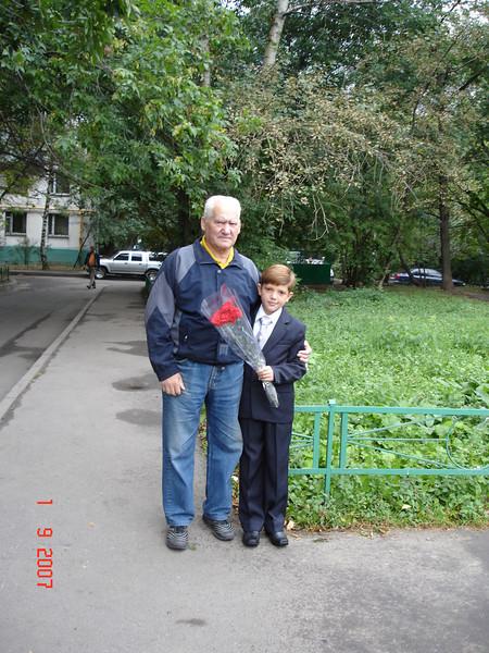 2007-09-01 Снова в школу -  6А