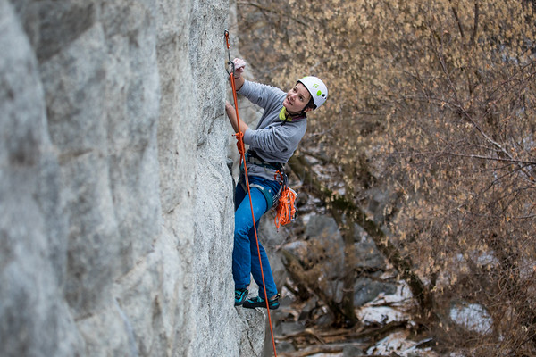Thanksgiving Climbing in Ferguson Canyon