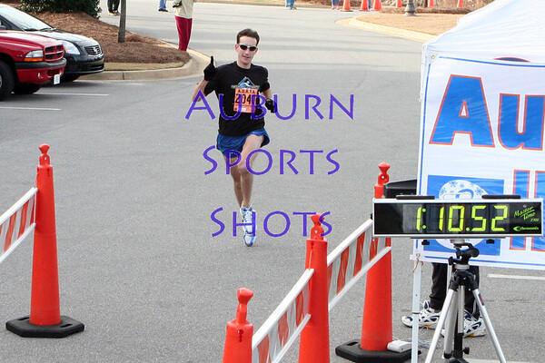 Adult's Half-Marathon Finish Line