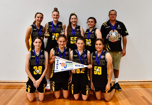 """U16"" Girls PREMIERSHIP Team Photo Loxton"