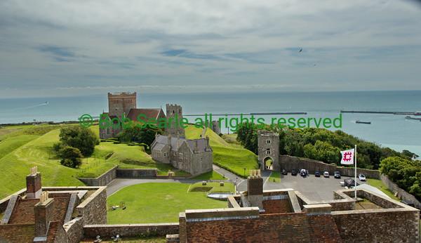 Dover Castle Kent England Aug 2017