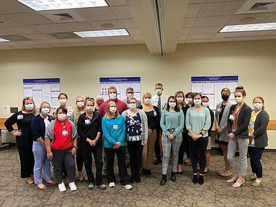 Fall 2021 Nurse Residency Program Graduation