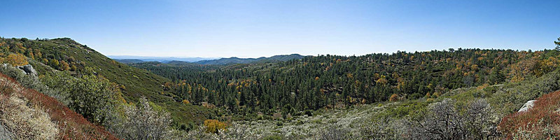 Sunrise Highway and Cuyamaca Panoramas