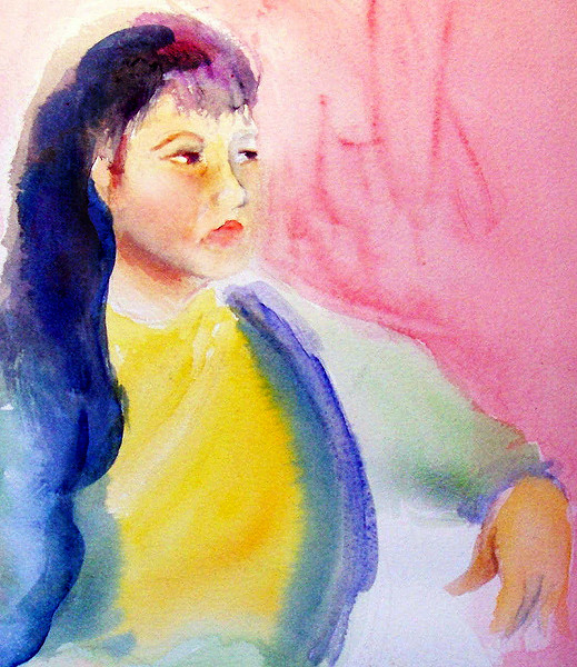 life figure painting