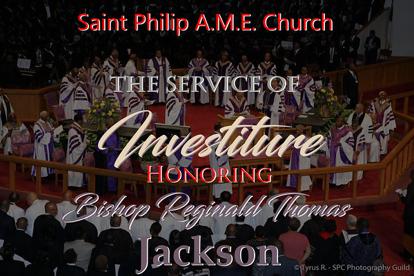 Investiture Service Bishop Jackson