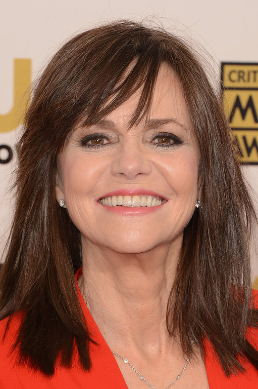 . Actress Sally Field arrives at the 18th Annual Critics\' Choice Movie Awards held at Barker Hangar on January 10, 2013 in Santa Monica, California.  (Photo by Jason Merritt/Getty Images)