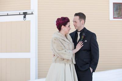 Lindsey & Dan O'Brien- St.- The Inn At The Round Barn Farm, Waitsfield VT Wedding Photographer