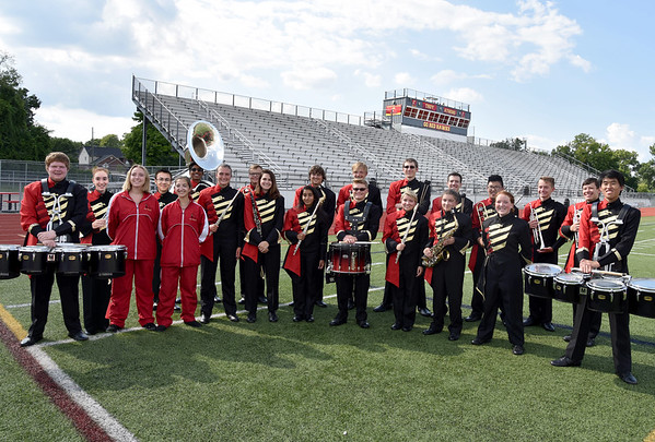 Band and Section Pictures