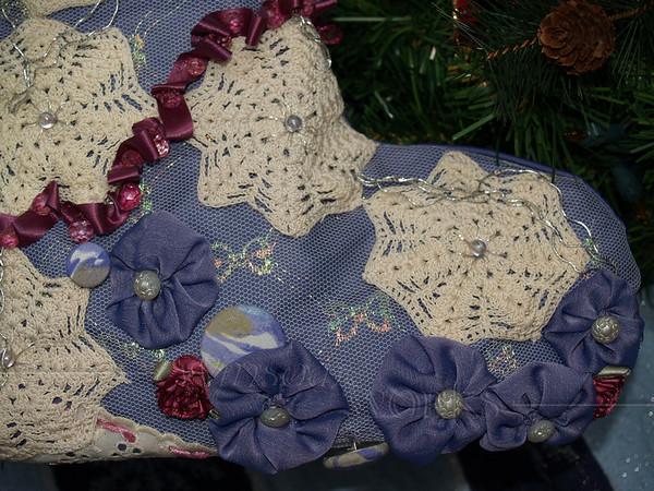 Mom's Handmade Christmas Stockings
