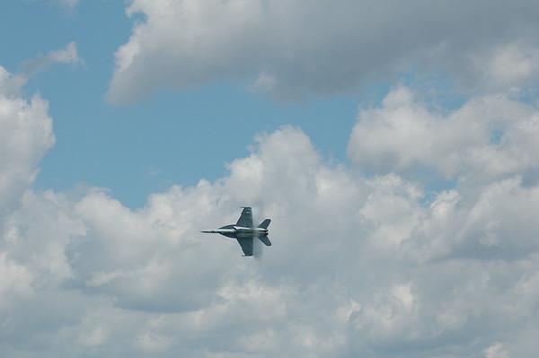 F-18 flyover