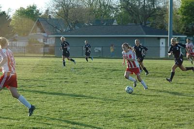 Girls Varsity Soccer - 2006-2007 - 5/4/2007 Fruitport JG