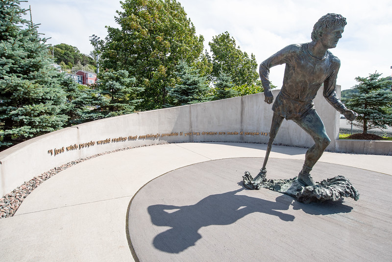 Terry Fox monument, St. Johns