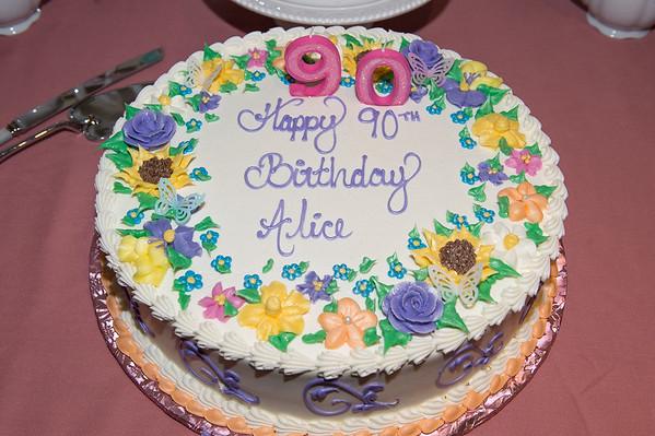 Alice @ 90