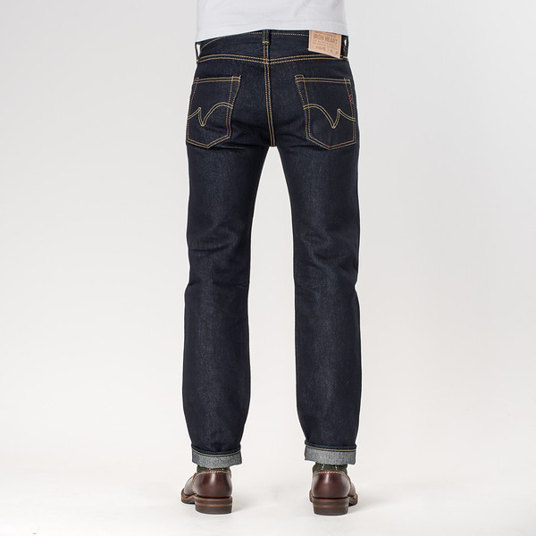 IH-666S-PD - Indigo 18oz Money Denim Slim Cut-6514.jpg