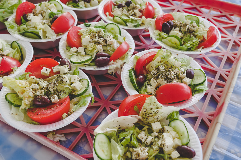 More Greek Salads