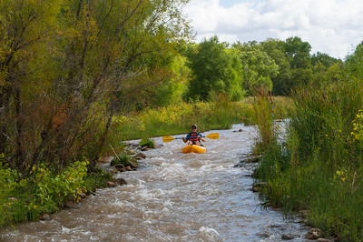 9/29/19 - Verde River Kayaking with NAU Frosh