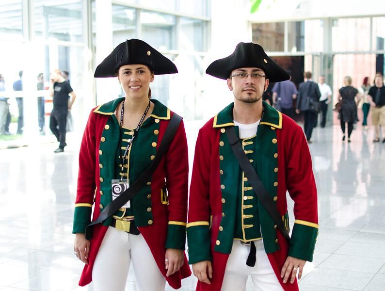 Assassins Creed models @ Gamescom 2012