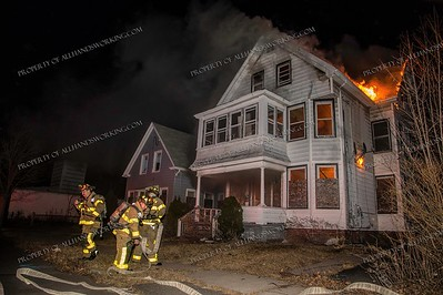 2 Alarm Vacant Dwelling Fire - 22-24 Richards Pl, West Haven, CT - 2/08/19