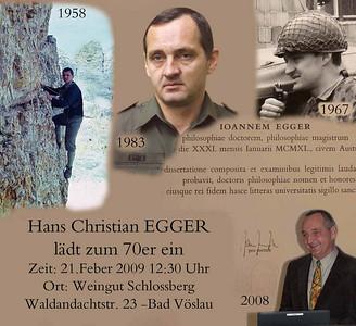 Hans-Christian - Das 70er Fest !