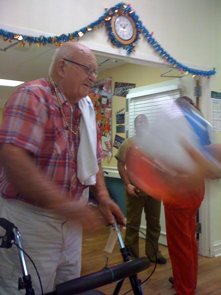2009 07 20 - Mr Parkhill leaves The Springs