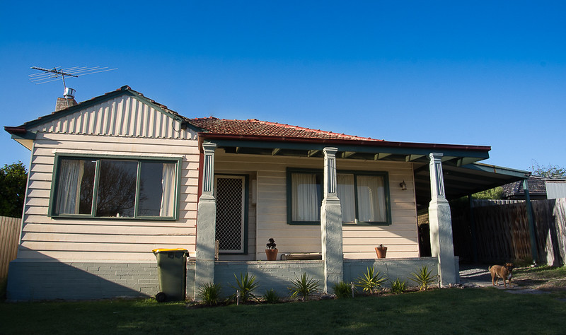 We were housesitting this house in Frankston