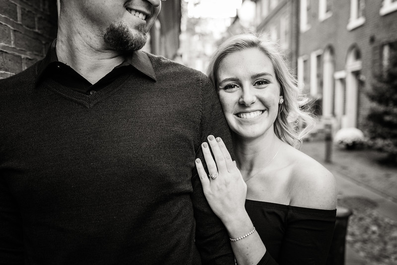 MICHELLE AND NICK - OLD CITY ENGAGEMENT SESSION - 32.jpg