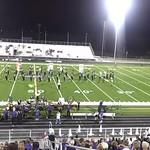 CSHS Band Halftime Performance 10/11/2012