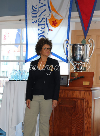 Trophy Ceremony for the Port of LA Harbor Cup