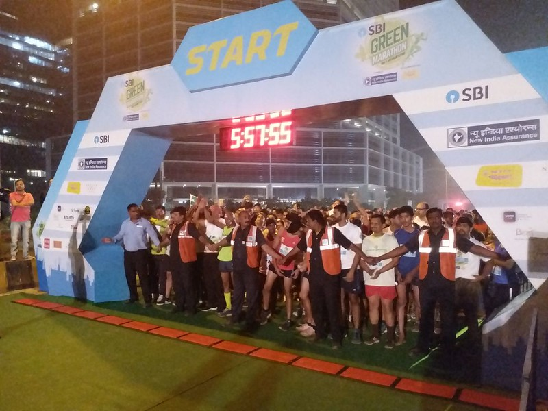 SBI Green Marathon 2018, Delhi