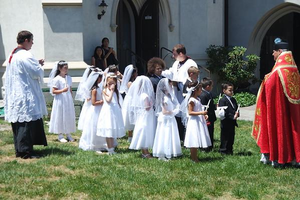 Pentecost Sunday and First Communion (May 15, 2016)