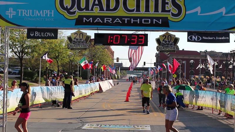 Quad Cities Marathon 1/2 Marathon Men's Winner