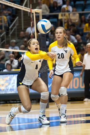 28001 WVU Women's Volleyball  South Florida November 2011