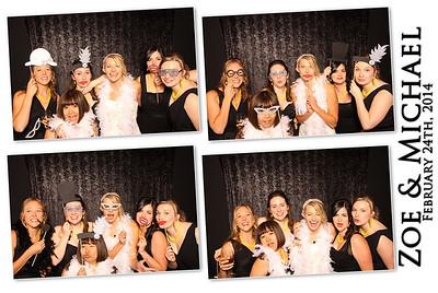 Zoe & Michael Wedding Photo Booth