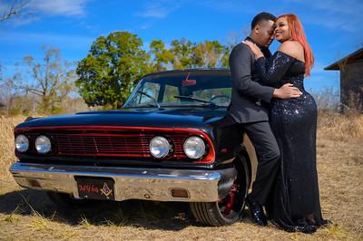 Shantera & Justin Engagement Pictures