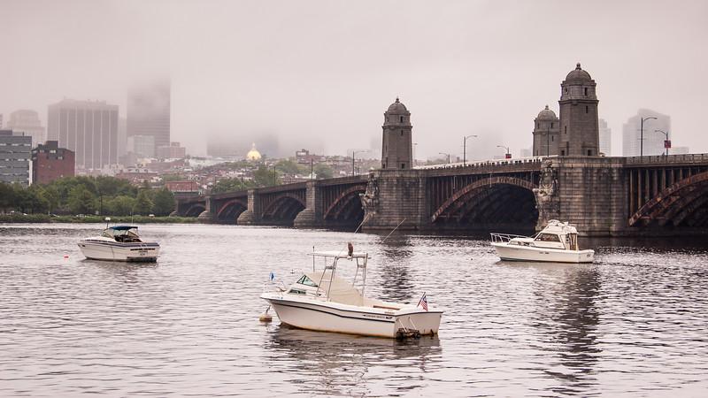 Longfellow Bridge in Boston