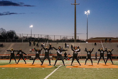 Dance Team at TC Williams Football Game 4/1/21