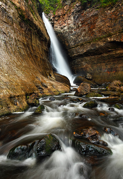 The Flow Below II - Miners Falls (Pictured Rocks National Lakeshore - Upper Michigan)