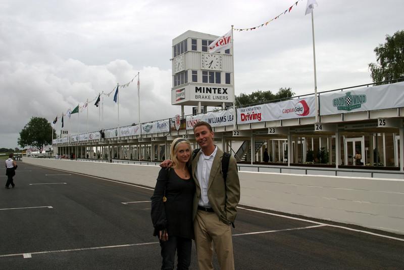 2006 Goodwood Revival, Pat & Sarah