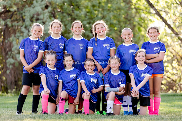 Springville Girls Grade 3+4 Soccer
