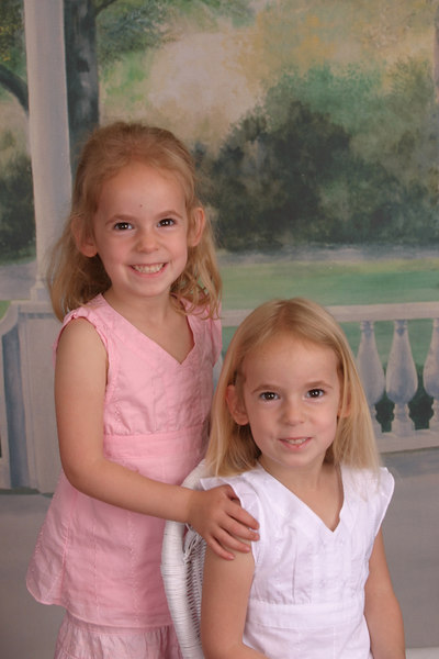 Violet and Julie at preschool.
