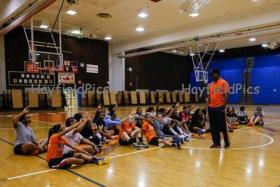 Girls Basketball Tryouts 11/10/11