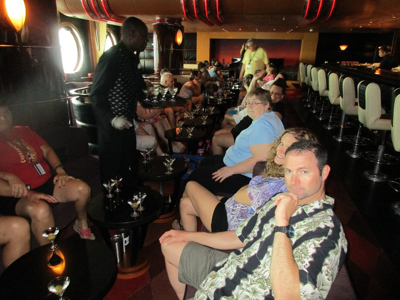 Martini Tasting aboard the Disney Wonder WBPC May 2016