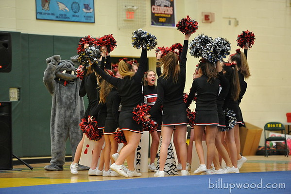 Bulldogs Cheerleading Competition - 2/19/14