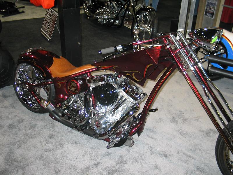 Custom motorcycle 'Old School'