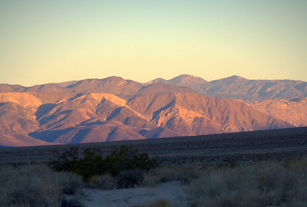 Eureka Dunes, Tuolomne Meadows and Mono Lake, Sept 2006